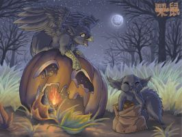 Fawna's Quest Halloween '07 by Flowerlark