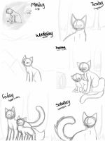 Weekly sketch dump 5 by TheClansOf-TheValley