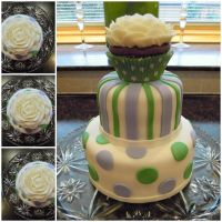 3-tier cake by cake4thought