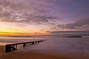 Raafs Beach Sunrise by daniellepowell82