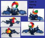 Princess Luna is Having A Ball Custom Sculpture by MadPonyScientist