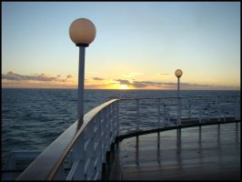 Peaceful-ness on deck by avarenity