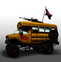 Betty the post apocalyptic survival vehicle by OmarCo