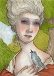 Madame de Maritime and the songbird by WhimsicalMoon
