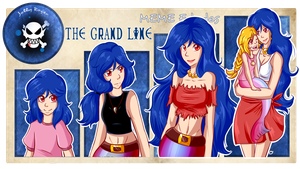 Meme Edades - The Grand Line - Violet by Rumay-Chian
