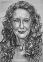 Frances Conroy by arcitenens