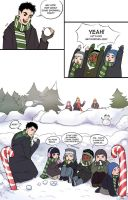 snowball fight by Neizu