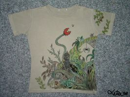 Jungle t-shirt by letax