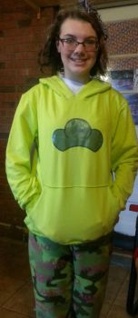 My Choro hoodie came in by Fluffyasleepfoot5