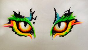 Tiger eyes by MarieLouise96