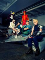 Final Fantasy Group Cosplay 1 by SNTP