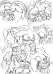 Silvaze Doodles by andreahedgehog