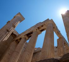 The midday Acropolis by macrodger