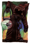 Curious Jawa (original, colored version) by mocellen