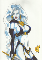 Lady Death Amused by Palyansquest