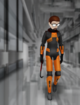 Gordon Freeman Concept Art Pose (Download) by BloodyKylie