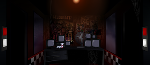 Five Nights at Freddy's Background by drawponies