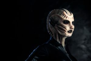 Biomechanical Alien Woman (Silicone) by tr0llkvinna