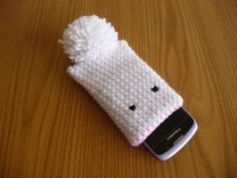 Bunny Rabbit Phone Sock 2 by epichonor