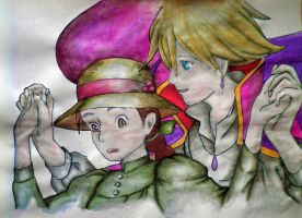 Howl's Moving Castle by CloudySky16