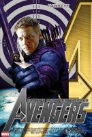 Poster HawkEye Avengers by Alex4everdn