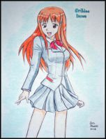 Orihime Inoue by LaughingStockStables