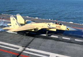 Shenyang J-15 Flying Shark by GeneralTate