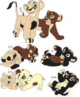 Breedable couple 1 litter by Foreverloved525