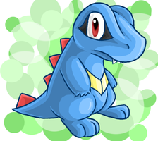 Totodile YAY by fuzzball288