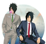 Madara and Obito - In suits by Lesya7