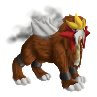 Entei by Brookreed