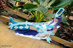 Legendary Huntress Suicune by itsthekitsunekid