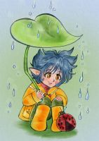 Rainy day-color by Gabycat
