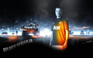 Nemanja Vidic - Battlefield effect by PanosEnglish