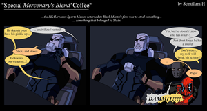Special 'Mercenary's Blend' Coffee by Scintillant-H