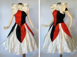 Harley Quinn Party Dress by glimmerwood