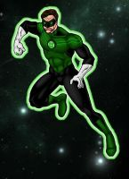Green Lantern: Hal Jordan by north-green