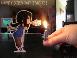 Happy Birthday Itachi by MlleLowra