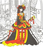WIP2:.: Queen of Hearts by madhatterkyoko