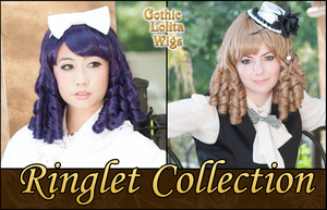 Coming Soon! - Ringlet Collection by GothicLolitaWigs
