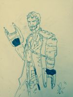 Star Lord by Karantheartist