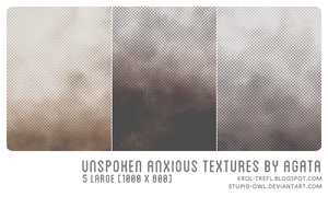 Unspoken anxious textures by stupid-owl