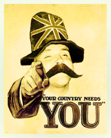 Your Country Needs You by Ugghhzilla