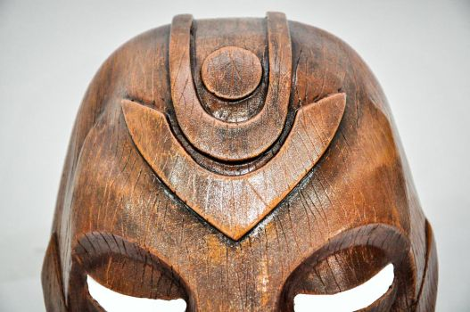 TESV - Wooden Mask by ReplicanteCustom