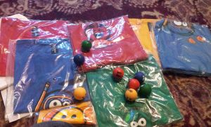 Deviant wear Emoticon Shirts and Keychains by krishsajid