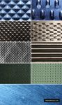 9 Metal Surface Textures by ormanclark