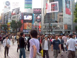 The Shibuya Crossing by taboruu