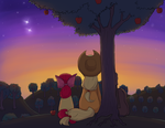 Heartwarming ponies week - Day 1 - Sunrise Family by keterok