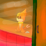 The Teddy buizel doll in the toy store by landonbay