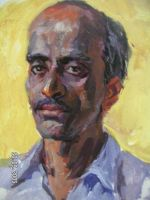 Potrait of  man by Hemali